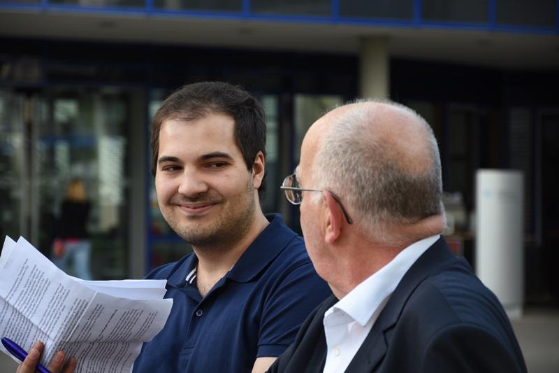 Kurz vor seinem Vortrag – Prof. Uwe Wiemken im Interview mit technikjournal.de