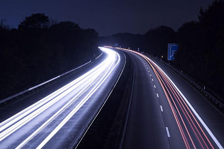 Gefährliche Anschlussstelle auf der A57 bei Neuss. Foto: Christoph Vogels