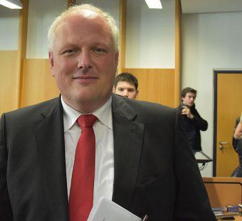 Ulrich Kelber sprach in seiner Vorlesung über Ökologie und Wandel. Foto: Marie-Louise Franz