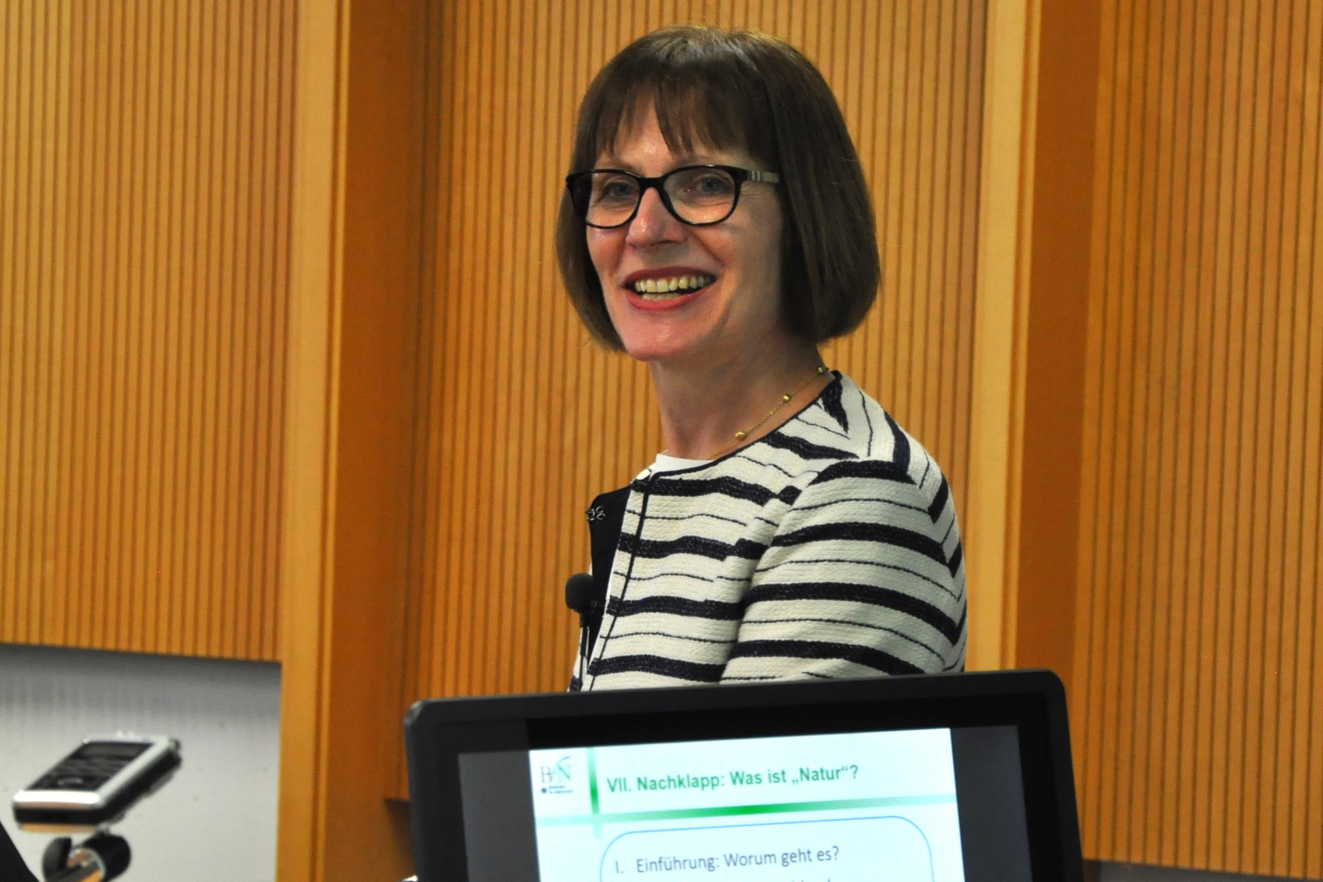Dr. Christiane Schell sprach über Naturschutz
