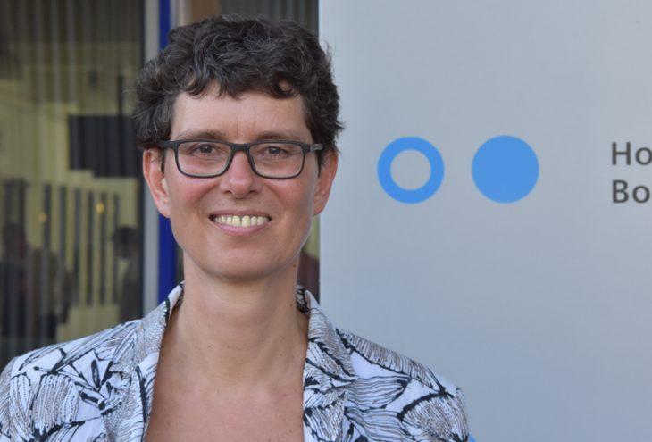Prof. Corinna Bath sprach über Technik und Geschlechterforschung. Foto: Adrian Breuch