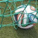 Der Ball im Netz. Für die Statistik heißt das 1:0. Foto: Müller