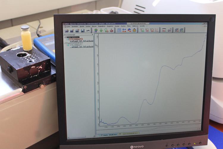 Der Fachmann erkennt alle gefragten Parameter von Eierlikör wieder. // Bild: Ilgaz Yorulmaz
