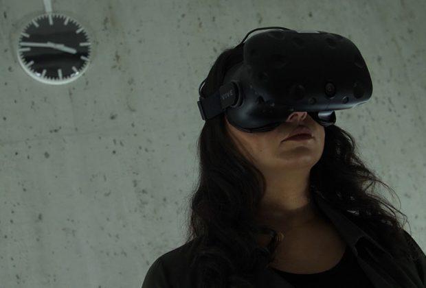 Die Virtual-Reality-Brille wird in die Marketing-Welt eingeführt. Foto: Morteza Yazdi und Gonca Sirin