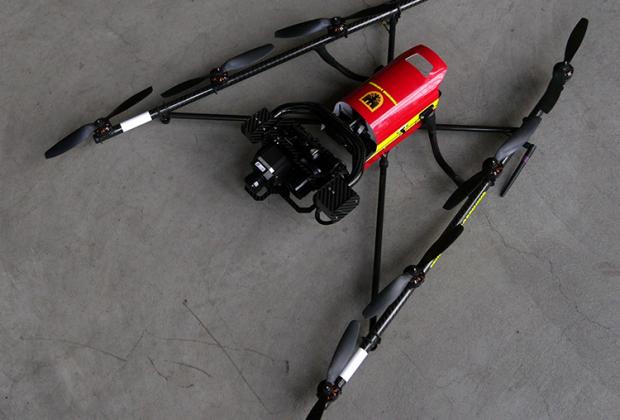 Drohne der Feuerwehr Dortmund; Teaserbild: Morteza Yazdi
