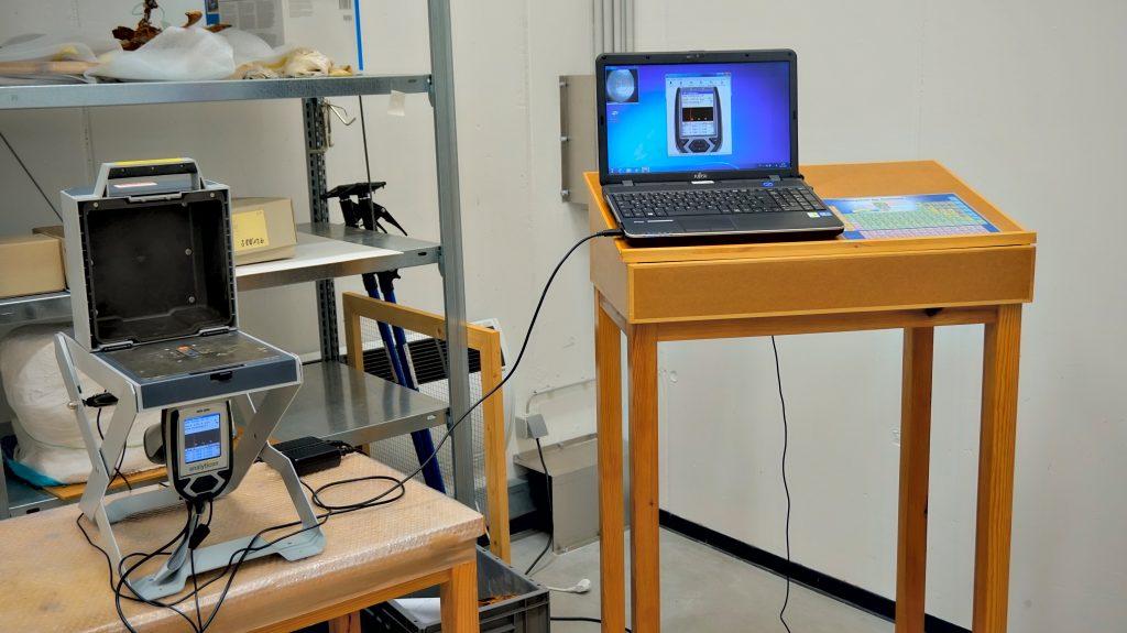 Röntgenfluoreszenz-Gerät