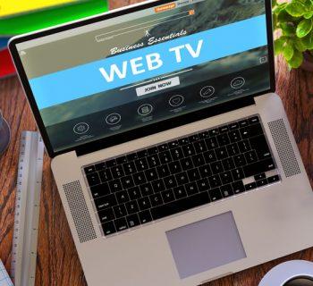 Web-TV, Quelle: Colourbox /Tashatuvango