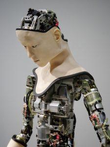 Das ist der Roboterjournalist der Zukunft – vielleicht. Foto: Franck V., Unsplash