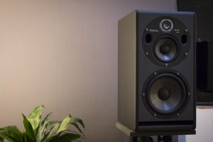 Picture of a studio loudspeaker