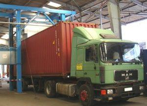 Analyse eines LKW-Containers mit TNIS