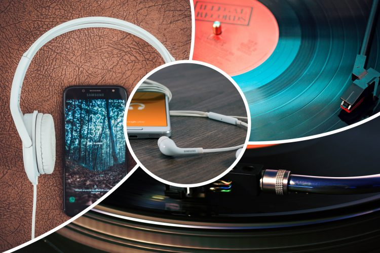 Schallplatte gegen Streaming