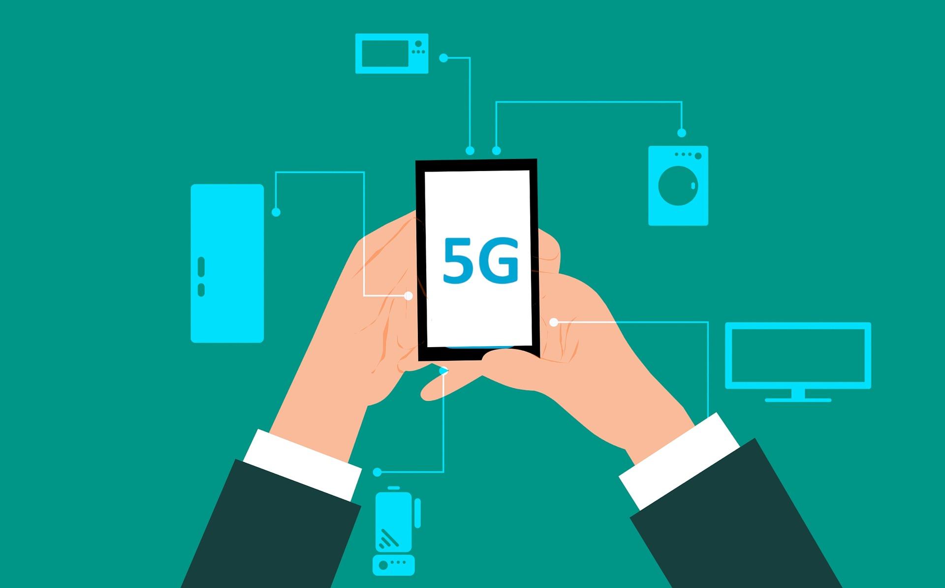 5G soll verschiedene Dinge künftig vernetzten.