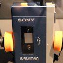 Sony Walkman mit Kopfhörer