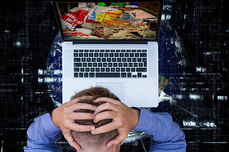 Das ungeordnete Ansammeln digitaler Daten bezeichnet man als digital Hoarding. Für Menschen kann dies zu einer psychischen Belastung führen