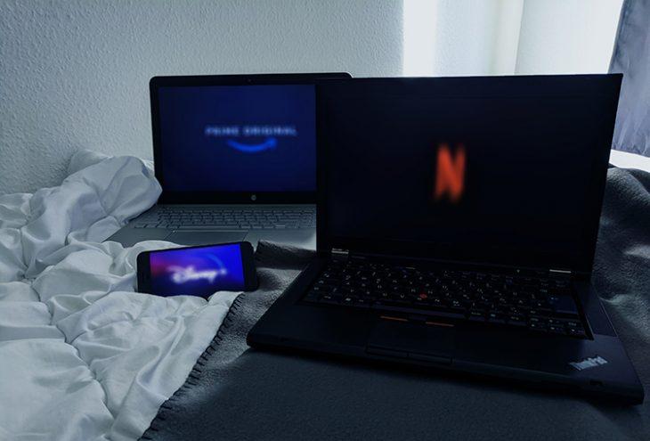 Das Bild zeigt die verschiedenen Möglichkeiten von Streaming im Internet auf.