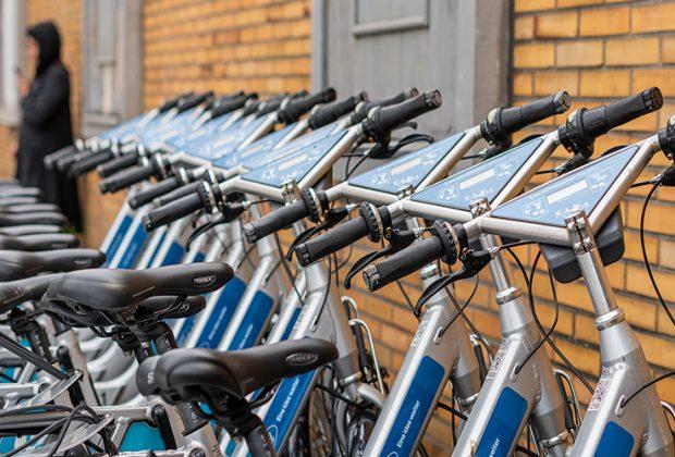 E-Bike-Station am Bahnhof von Köln-Mülheim