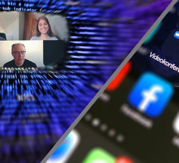 Videokonferenz Plattformen und ihre Sicherheitslücken.