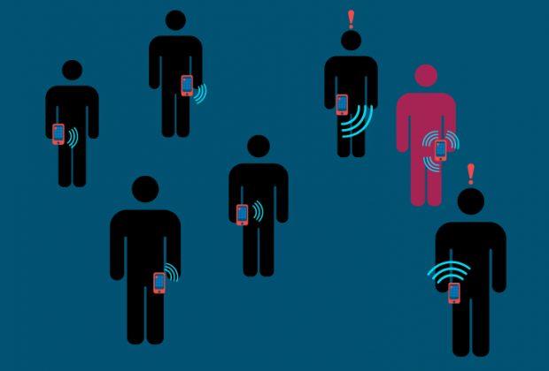 Teaserbild: Corona-App kann helfen Infektionsketten zu stoppen. Quelle: Julian Fernandes