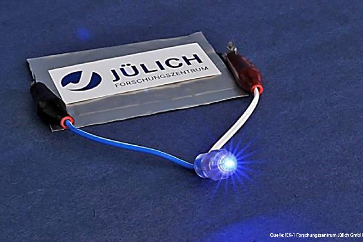 Der Prototyp der Festkörperbatterie