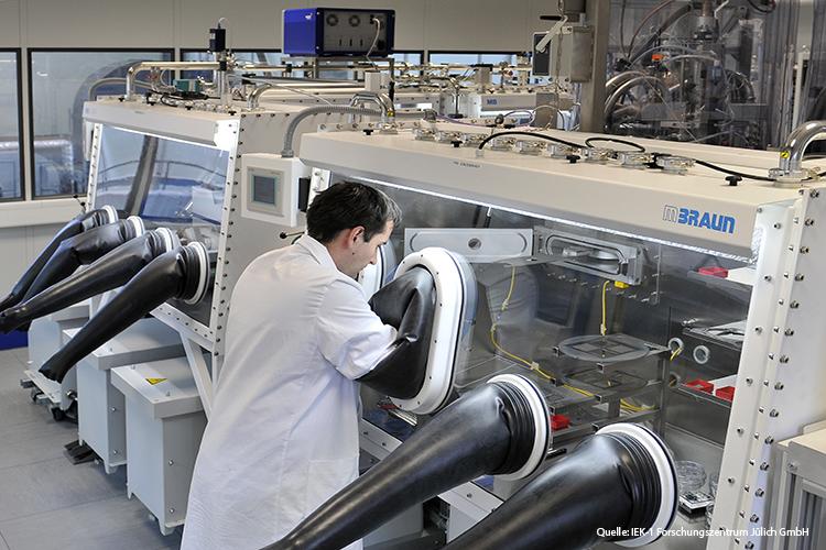 Labor der Jülich GmbH