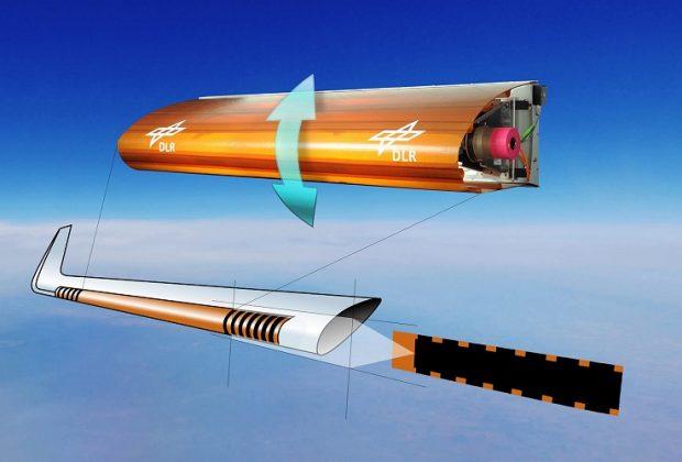 """""""FlexMat"""" – Flexible Flugzeughaut zur Lärmreduzierung"""