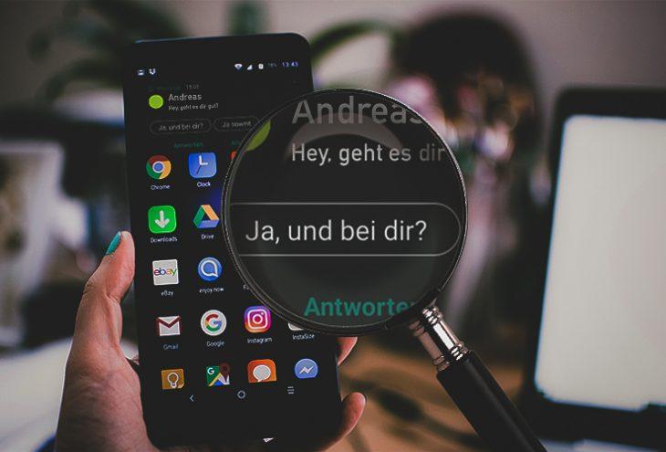 Smart Reply als neue Hilfe für WhatsApp-Nutzer