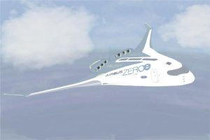 Modell Zeroe von Airbus, Klimaneutrales Flugmodell mit Wasserstoffantrieb